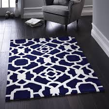 Area Rug Modern by Area Rugs Stunning Blue And White Area Rugs Blue And White Carpet