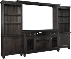 Zelen Bedroom Set Canada Townser Waxy Grayish Brown Large Tv Stand From Ashley Coleman