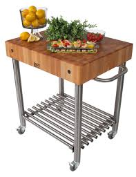 Kitchen Island Base Only by Butcher Block Kitchen Carts John Boos Catskill