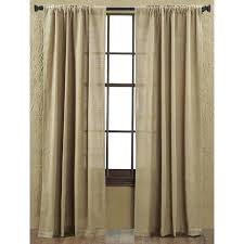 Smocked Burlap Curtains Burlap Drapery Panels Buy Smocked Burlap Curtains Smocked Top