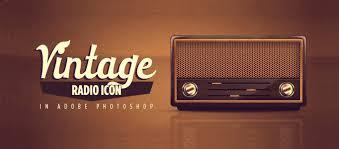 tutorial design photoshop design a traditional radio image in photoshop tutorial photoshop lady