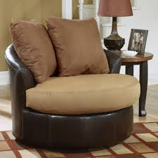 Living Room Armchairs Round Swivel Living Room Chair Intended For Inspire