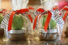 caramel apple party favors delicious wedding shower favors for fall apple caramel favors