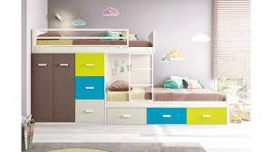 chambre garçon lit superposé lit superposé enfant pour une chambre enfant glicerio so nuit
