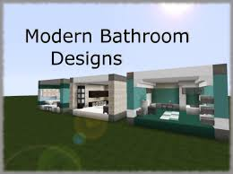 minecraft bathroom designs 3 modern bathroom designs minecraft project