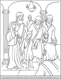 temple coloring page the 5th joyful mystery coloring page finding jesus in the temple