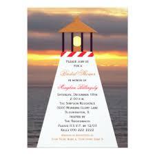 Nautical Bridal Shower Invitations Beach Theme Bridal Shower Invitations U0026 Announcements Zazzle