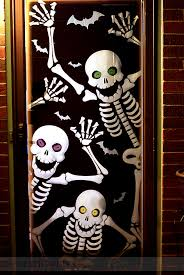 Halloween Skull Decorations 30 Cute And Fun Halloween Door Decorating Ideas 2017