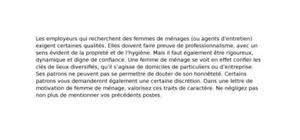 lettre de motivation hotellerie femme de chambre lettre de motivation femme de ménage