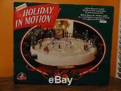 mr christmas mr christmas in motion skating rink pond