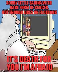 Facebook Likes Meme - god checks facebook imgflip