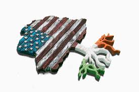 Flag Of Ireland American Flag Tree With Root Flag Of Any Country Usa Heritage