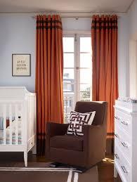 Orange And White Striped Curtains Fantastic Orange And White Curtains And Sheer Curtain Ideas For