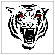 red eyes tiger tattoo design clipart panda free clipart images