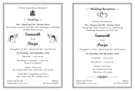 wedding invitation wording hindu wedding invitation wordings