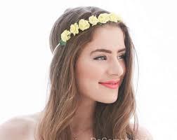 headband floral floral headband etsy