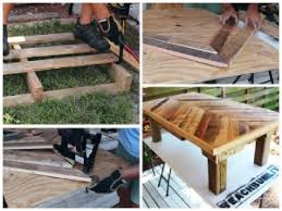 Pallet Coffee Tables Find Out How To Make A Pallet Coffee Table