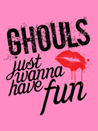 ghouls just wanna have fun ladies pink halloween t shirt buy