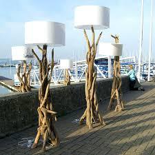 Pottery Barn Arc Lamp by Floor Lamp Driftwood Floor Lamp Simple Easy Tutorial Lamps Wood