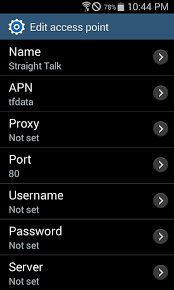 talk apn settings android talk apn settings for and for at t samsung