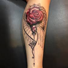 red rose tattoo ideas