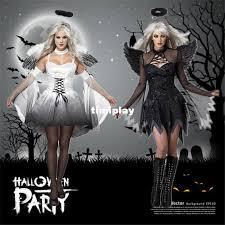 Devil Angel Halloween Costumes Halloween Devil Costume Women Angel Devil Black U0026 White