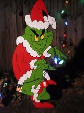 grinch lawn decoration grinch whoville manor christmas yard pattern wood working