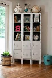 lockers for bedrooms repurposed lockers repurposed upcycling recycling pinterest