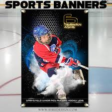 hockey templates for photoshop ashe design photoshop templates 2x3 sports banner screen play