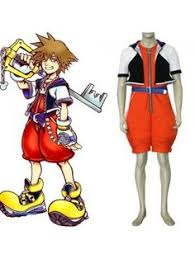 Kingdom Hearts Halloween Costumes Kingdom Hearts Squall Blue Cosplay Costumes Game