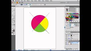 illustrator using the live paint selection tool lynda com youtube