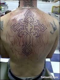 cross back tattoo designs page 12