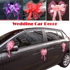 wedding car decorations qoo10 wedding corsage furniture deco