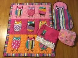Zutano Crib Bedding Zutano Owls 4 Crib Bedding Set Pink Bright Baby Nursery