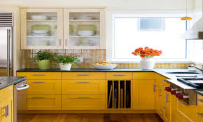 Yellow Kitchen Walls by Colorful Backsplash Yellow Kitchen Ideas Yellow Kitchen Walls