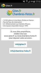 chambres d h es org gîtes et chambres d hôtes android apps on play