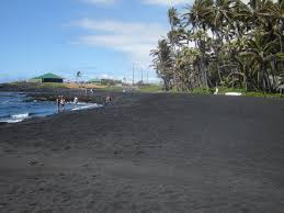 Black Sand Beaches by Big Island Black Sand Beach Gigi Hawaii