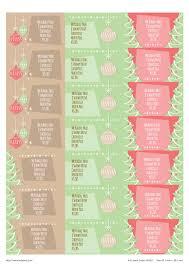 winter wishes christmas address label templates u0026 seals