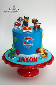 PAW PATROL CAKE Young Jaxon celebrated his 2nd Birthday with this