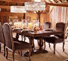 Lorraine Extending Dining Table Hewn Oak Pottery Barn - Pottery barn dining room table