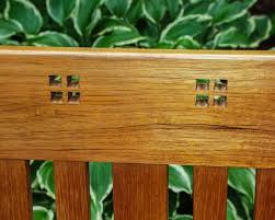 Arts And Crafts Garden - custom arts and crafts garden bench by bench dog woodworks