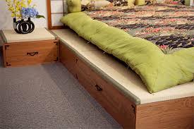 Tatami Mat Bed Frame Tatami Platforms Japanese Futon Bedding Sleep Exquisite