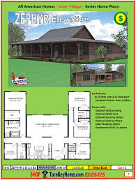 zephry design solar village modular home plan from all american