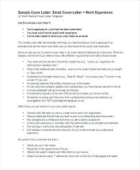 general resume cover letter sample sample of covering for great
