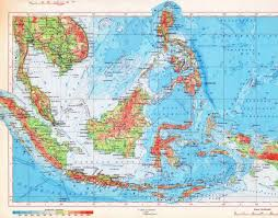 Physical Maps Maps Of Indonesia Detailed Map Of Indonesia In English Tourist