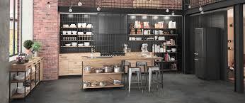meuble ind endant cuisine meuble cuisine indã pendant cuisine bois metal fabricant francais