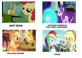 Meme My Little Pony - my little pony marvel movies meme 2 by brandonale on deviantart