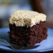 madagascar vanilla cake with dark chocolate frosting trader