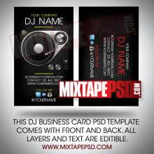 Best Business Card Creator Dj Cards Archives Mixtapepsd Com Archive Mixtapepsd Com
