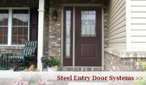 Steel Vs Fiberglass Exterior Door Entry Doors Therma Tru